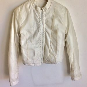Arden B Jackets & Coats - Faux Leather Moto Jacket by Arden B Size 10